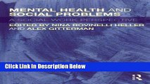 [Fresh] Mental Health and Social Problems: A Social Work Perspective New Ebook