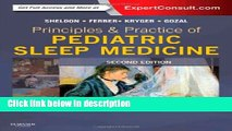 [Get] Principles and Practice of Pediatric Sleep Medicine: Expert Consult - Online and Print, 2e