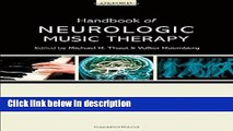 [Get] Handbook of Neurologic Music Therapy Online New