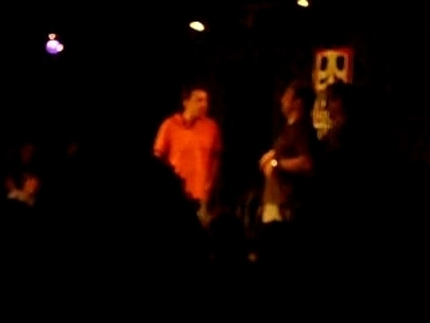 Ed Helms and Rob Riggle at del close