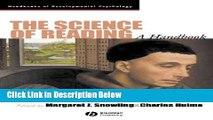 [Best] The Science of Reading: A Handbook (Wiley Blackwell Handbooks of Developmental Psychology)