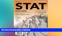 FAVORITE BOOK  Behavioral Sciences STAT (with Review Cards and Psychology CourseMate with eBook