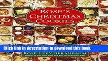 [PDF] Rose s Christmas Cookies [Full Ebook]
