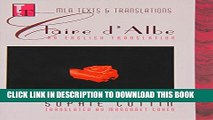 [PDF] Claire d Albe: An English Translation (Texts and Translations) Full Online
