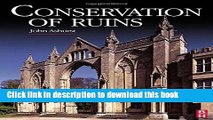 Read Conservation of Ruins (Butterworth-Heinemann Series in Conservation and Museology)  Ebook Free