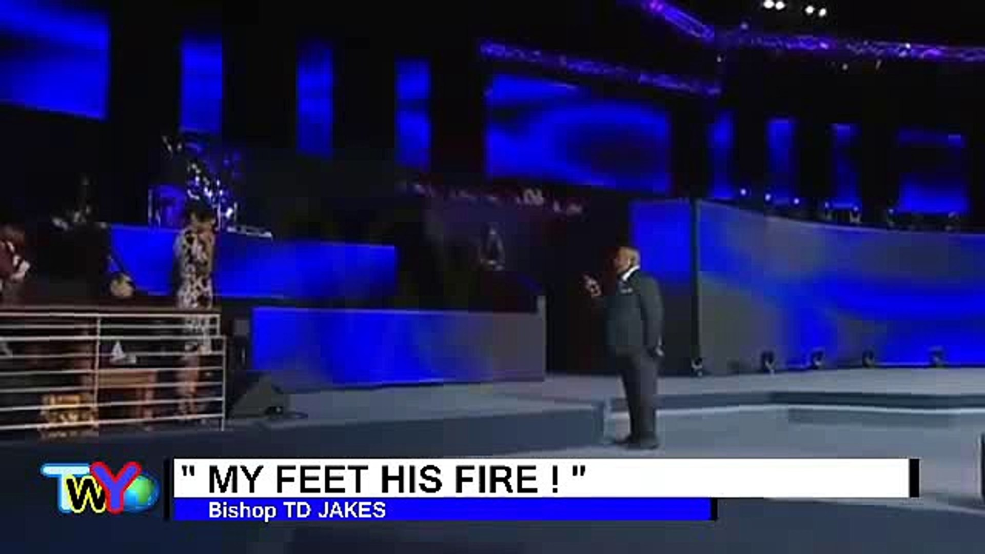 TD Jakes 2016 - My Feet His Fire  - 002