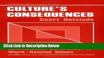 [Get] Culture s Consequences: International Differences in Work-Related Values (Cross Cultural