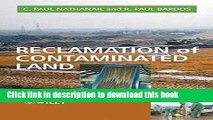 Read Reclamation of Contaminated Land (Modules in Environmental Science)  Ebook Free