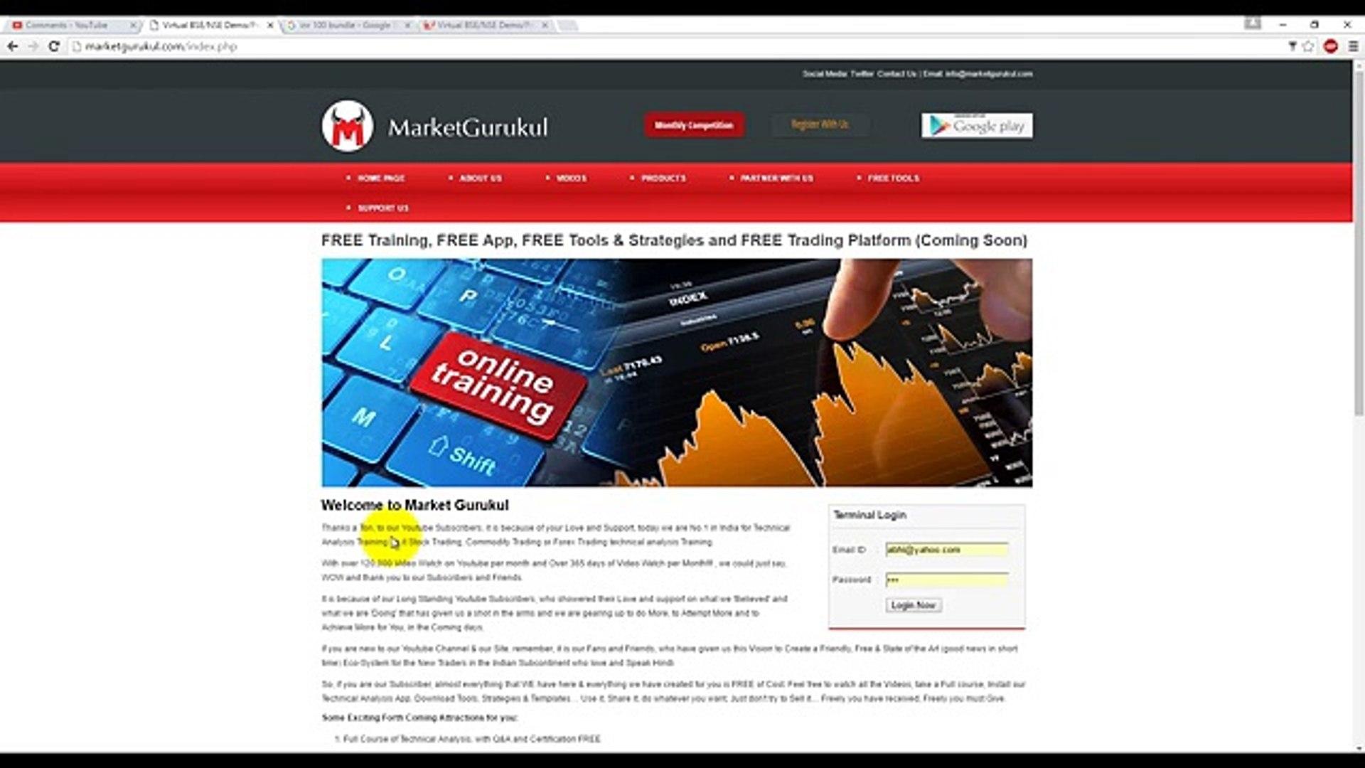 MarketGurukul.com Competition Registration