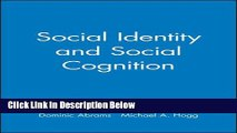 [Get] Social Identity and Social Cognition Free New