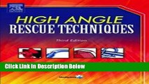[Fresh] High Angle Rescue Techniques New Books
