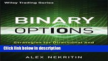 Binary options strategies for directional and volatility trading pdf sports betting formulas in excel