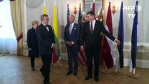 Riga Biden rassure les pays baltes face aux propos de Trump