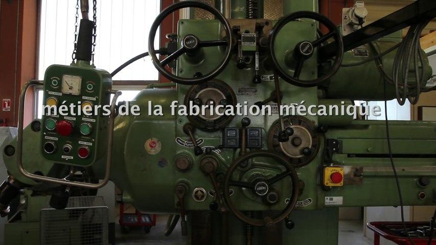 Métiers de la fabrication mécanique