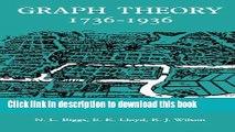 Read Graph Theory 1736-1936  PDF Free