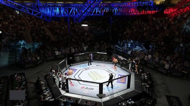 UFC 2 GAME 2016 MIDDLEWEIGHT BOXING UFC CHAMPION BOXERS MMA ● JOSH SAMMAN VS KELVIN GASTELUM