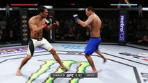 UFC 2 GAME 2016 MIDDLEWEIGHT BOXING UFC CHAMPION BOXERS MMA ● JOSH SAMMAN VS ROYCE GRACIE