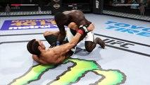 UFC 2 GAME 2016 MIDDLEWEIGHT BOXING UFC CHAMPION BOXERS MMA ● JOSH SAMMAN VS URIAH HALL