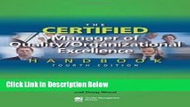 [Fresh] The Certified Manager of Quality/Organizational Excellence Handbook, Fourth Edition Online