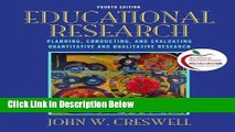 [Fresh] Educational Research: Planning, Conducting, and Evaluating Quantitative and Qualitative