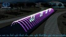 Thiết kế mô phỏng nhạc nước bể dài, phun nước nghệ thuật tạo hình