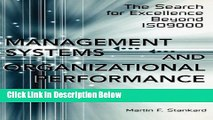 [Reads] Management Systems and Organizational Performance: The Search for Excellence Beyond