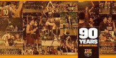 FCB Basket: 90 anys de la fundació de la secció