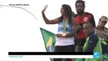 Rio 2016: Brazilian gold medallist Rafaela Silva given a hero's welcome visiting former favela home
