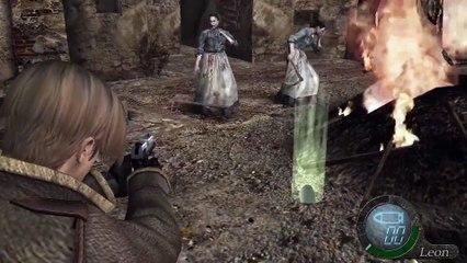 7 minutes de gameplay de Resident Evil 4 HD