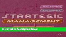 [Fresh] Strategic Management: Strategists at Work Online Ebook