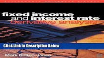 [Fresh] Fixed Income and Interest Rate Derivative Analysis New Ebook