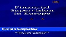 [Fresh] Financial Supervision in Europe Online Books