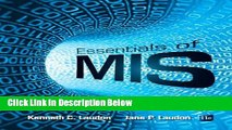 [Best] Essentials of MIS (11th Edition) Free Books