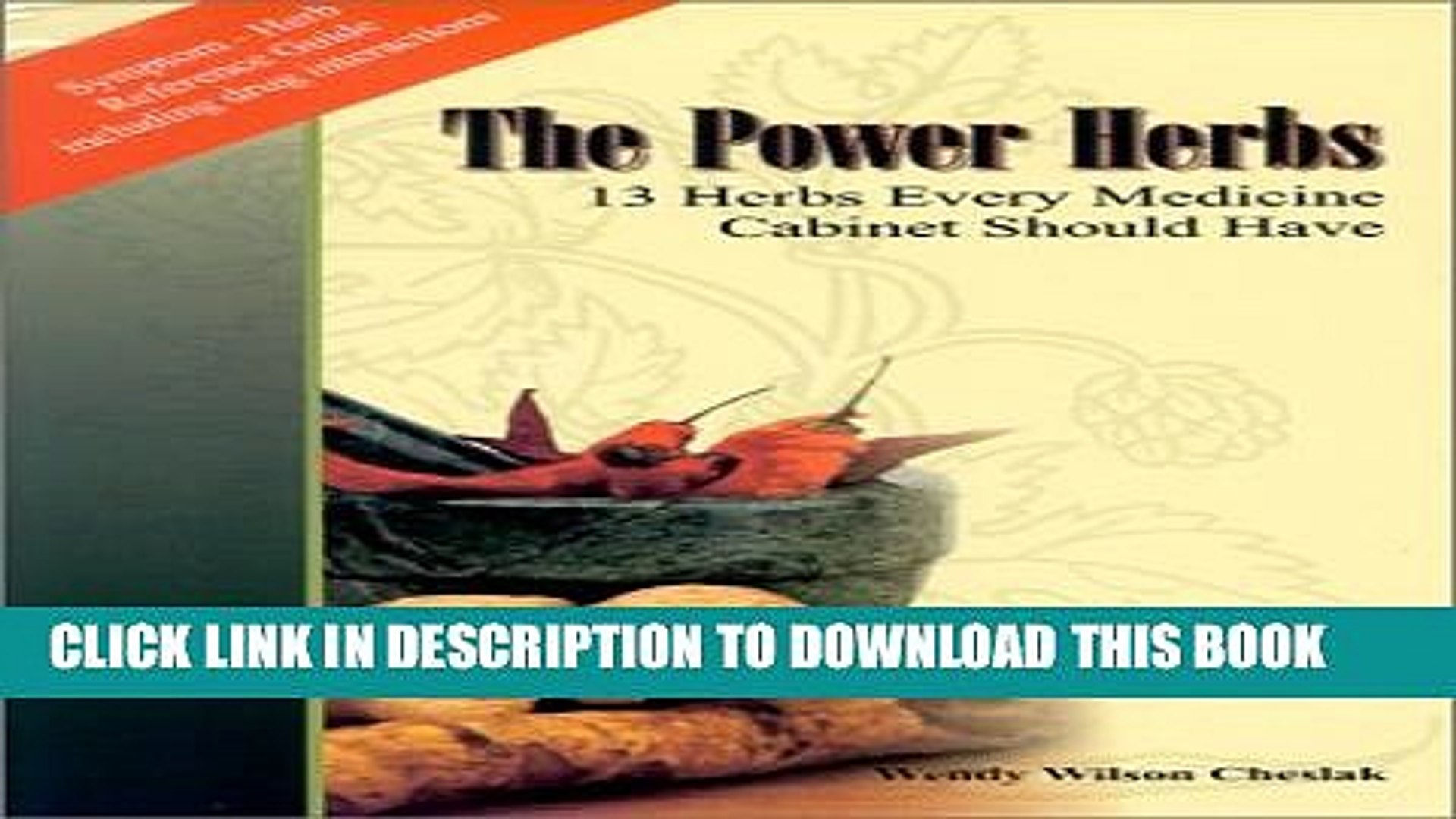 Pdf The Power Herbs 13 Herbs Every Medicine Cabinet Should Have Full Colection Video Dailymotion