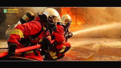 BMPM: Renfort feu industriel a Fos-sur-mer.