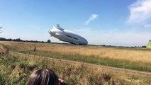 L'aéronef le plus gros du monde s'écrase lors d'un vol test