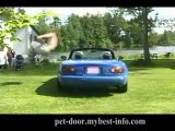 Insane Kid Front Flips Over an Entire Miata