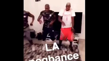 Pogba introduces the dab dance
