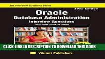 [PDF] Oracle Database Administration Interview Questions You ll Most Likely Be Asked (Job