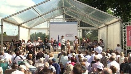 Déclaration de candidature d'Arnaud Montebourg à Frangy