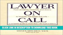 Collection Book Lawyer on Call: From Accidents, Contracts and Divorce to Lawsuits, Real Estate and