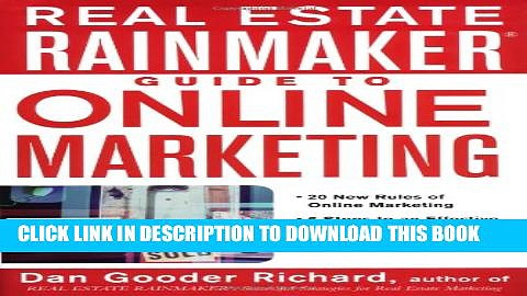 Collection Book Real Estate Rainmaker: Guide to Online Marketing