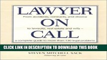New Book Lawyer on Call: From Accidents, Contracts and Divorce to Lawsuits, Real Estate and