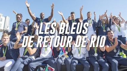 Les impressions des Bleus de retour de Rio
