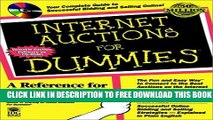 New Book Internet Auctions For Dummies