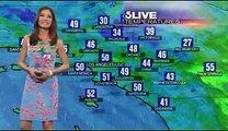 La robe de la Miss météo devient transparente en direct !