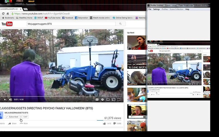 Reacting To MCJUGGERNUGGETS DIRECTING PSYCHO FAMILY HALLOWEEN%21 %28BTS%29