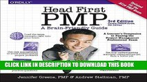 Collection Book Head First PMP