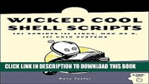 PDF] Wicked Cool Shell Scripts: 101 Scripts for Linux, OS X