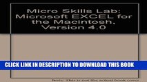 Collection Book Microsoft Excel for the Macintosh, Version 4.0: Microsoft Excel for the Macintosh